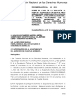 CNDH Recomendación 48/2016