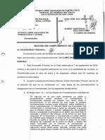 Moción en cumplimiento de Orden [abogado estado] Caso Esacala salarial FUPO/CONAPOL
