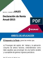 2015 Renta Sunat
