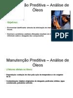 12 - Manutenção Preditiva  Análise de Óleos