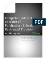 Complete Guide and Checklist of Purchasing a Subsale Residential Property in Malaysia.pdf