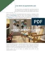 23 Plantas Para Ter Dentro de Apartamento Com Muito Charme