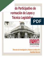Metodo Participativo de Formación de Leyes