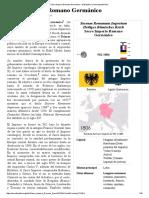 Sacro Imperio Romano Germánico - Wikipedia, La Enciclopedia Libre