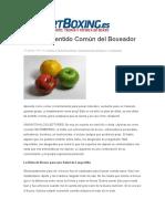 Dieta De Sentido Común del Boxeador.docx