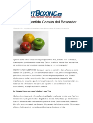 La dieta de 30 dias del peleador pdf gratis