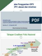 ( 1 ) Pengenalan Penggantian TOPV Menjadi BOPV Wasor 8 - 9 September