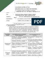 Informe de Compromisos de Docentes de Comunicacion