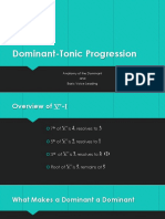 dominant-tonic progression