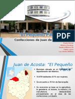 Caso de cluster de cofección en Juan de Acosta