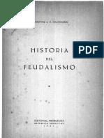 História Del Feudalismo - A Gokovsky y O Trachtenberg - 1942