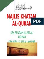 MAJLIS KHATAM