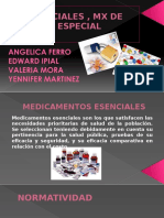 Mx Esenciales y MCE