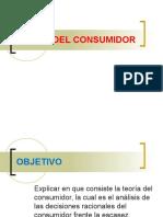 Teoria Del Consumidor y Del Consumidor