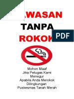 Desain Banner Rokok