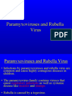 Paramyxovirus and Rubella