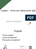 Puppet Torne Seu Datacenter Ágil