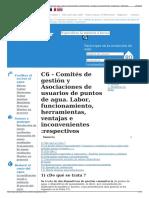 C6 - Comités de Gestión y Asociaciones de Usuarios de Puntos