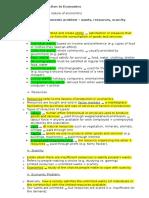 Economics Topics 1-3 Notes