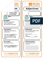 Grammar Reference Card