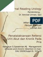Journal Reading Urology