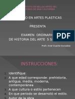 Examen Extraordinario Historia Del Arte Renac a 1945