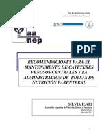 Nutricion Parenteral y Cateteres