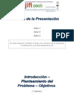 Plantilla Presentacion Jifi 2016