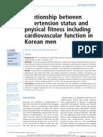 Relacion Entre Estado Hipertensivo y Salud Fisica