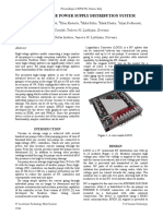 High-Voltage Power Supply Distribution System