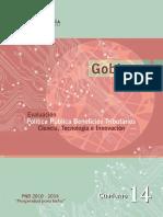 14 Beneficios Tributarios Ciencia, Tecnología e Innovación.pdf