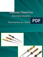 Sistema WaveOne (Dentsply Maillefer)
