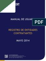 Manual Registro de Entidades