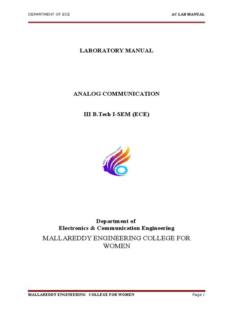 Ac Lab Mannual Beyond Detector Radio Frequency Modulation Simple Crystal Oscillator Using Transistor Circuit Diagramcircuit