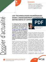 ENDRIZZI - Les technologies numériques dans l'enseignements supérieur.pdf
