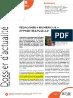 THIBERT, Rémi - Pédagogie + numérique = apprentissages