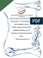 """""""Resistencia de Materiales"""" 1"""