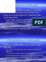 Presentation of Wind Data