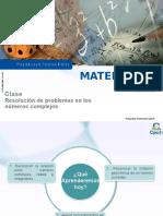 Clase 12 Resolución de Problemas en Los Complejos 2016