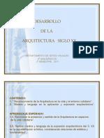 Desarrollo de la Arquitectura Siglo XX 8° coef 2