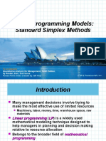 Standar Simplex Model