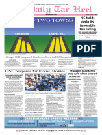 The Daily Tar Heel for Oct. 7, 2016
