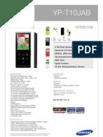 SAMSUNG MP3 YP-T10JAB