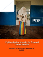 Fighting Against Impunity for Crimes of Sexual Violence - FCO