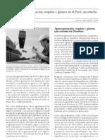 Agroexportación, empleo y género en el Perú un estudo de casos