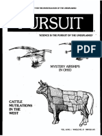 PURSUIT Newsletter No. 37, Winter 1977 - Ivan T. Sanderson