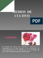 Microbiologia Medios de Cultivos