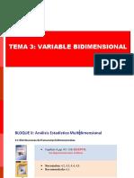 Analisis Estadistico bidimensional