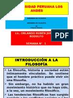 Seminario de Filosofía Seman. 1 y 2