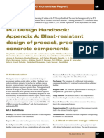 Journal_Winter2014 - PCI Design Handbook - Appendix a - Blast-resistant Design of Precast, Prestressed Concrete Components